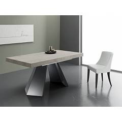 Eurosedia Pechino Extendible table l. 160 x 90 floor in nobiliato / laminato
