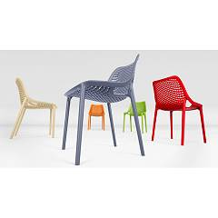Eurosedia Flo 126 Chair in polypropylene