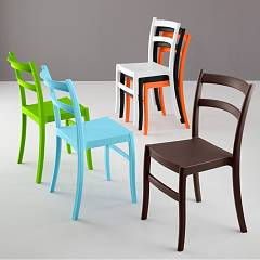 Eurosedia Gaia 045 Chair in polypropylene