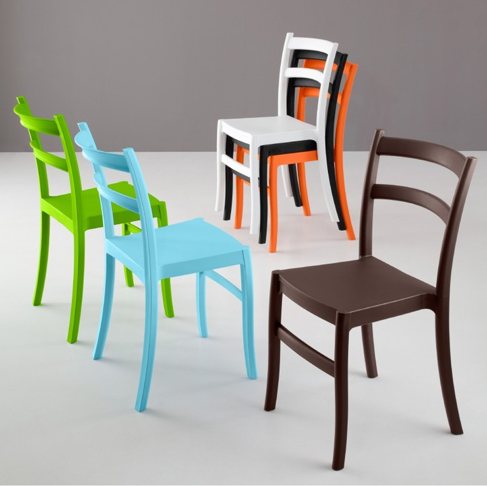 Photos 1: Eurosedia GAIA 045 Chair in polypropylene