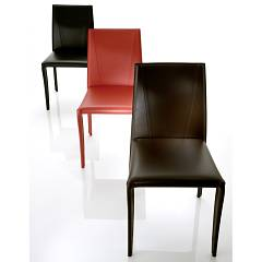 Eurosedia Isabel 266 Leather-coated chair