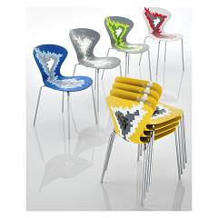 Eurosedia Kira 031 Metal and technopolymer chair