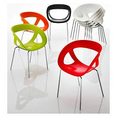 Eurosedia Miss 056 Metal and technopolymer chair
