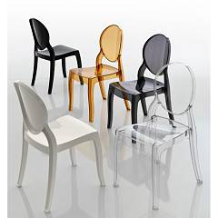 Eurosedia Smeralda 525 Technopolymer / polycarbonate chair