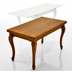 Eurosedia Icaro Extendable table with wooden structure and laminate top