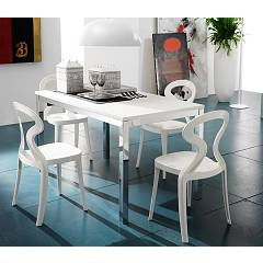 Eurosedia Lotus 379 Extendible table l. 140 x 80