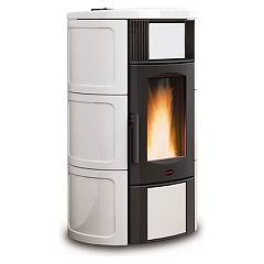sale Extraflame Nordica Iside Idro 2.0 Wood Pellet Heating Stove 19,0 Kw - White Coating Majolica
