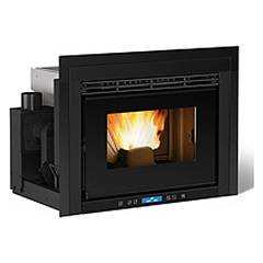 Extraflame Nordica Comfort P70 Pellet insert forced ventilation 9.7 kw 70 cm.