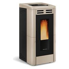 Extraflame Nordica Anastasia Plus Pellet stove forced ventilation 12,0 kw channel - tortora majolica covering