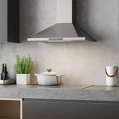 Faber VALUE PB X A60 Wall hood cm. 60 - stainless steel - set image