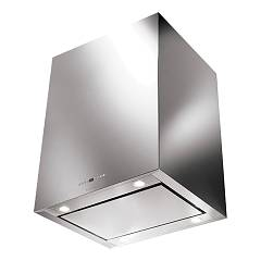 Faber Cubia Isola Plus Ev8 X A60 Island hood cm. 60 - stainless steel Smile
