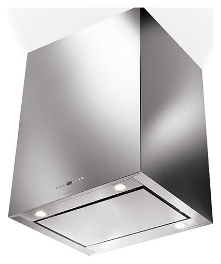 Photos 1: Faber CUBIA ISOLA PLUS EV8 X A90 ACTIVE Island hood cm. 90 stainless steel - motor capacity 670 m3 / h