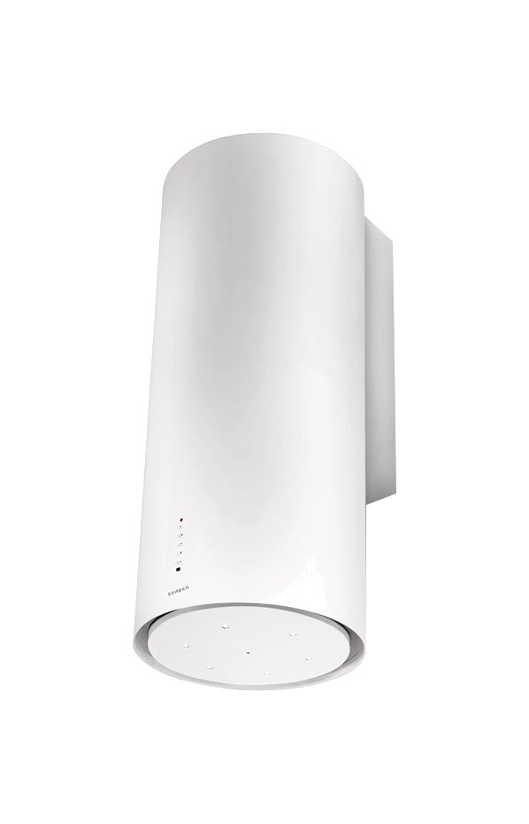 Faber CYLINDRA GLOSS PLUS Wall hood cm. 37 - white gloss