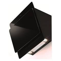 Faber Cocktail Xs Bk F55 Wall hood cm. 55 black glass - motor capacity 535 m3h