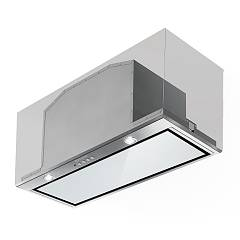 Faber Inca Lux Glass Ev8 X/wh A70 Built-in hood cm. 70 - stainless steel / white glass Emotion