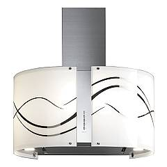 Falmec Fenice Wall hood cm. 67 - stainless steel - engine glass 800 m3 / h Mirabilia Round