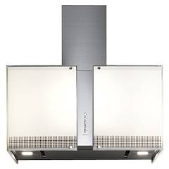 Falmec Platinum Wall hood cm. 67 - stainless steel - tempered glass engine 800 m3 / h Mirabilia Square