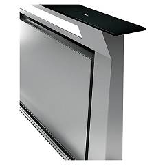 Falmec DOWNDRAFT - DESIGN+ Hood counter cm. 120 - black glass
