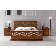 Photos 2: Fgf RICORDI TRAFORATO Double bed in wood