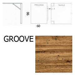 Fgf E963 L'extension de tirages 60x90 groove