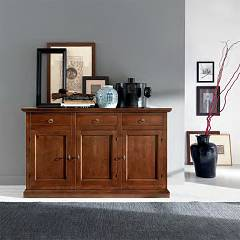 Fgf Le Memorie G312 3 doors and wooden drawers