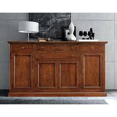 Fgf Le Memorie G319 4 doors and drawers in wood