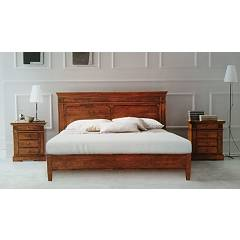 Fgf Flora Double bed in wood
