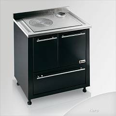 Focus Ipanema Wooden cooking hot air natural convection - black exhaust fumes top right