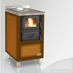 Focus Rio 45 Wooden cooking hot air natural convection 6 kw - shaded brown