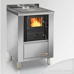 Focus Rio 60 Wooden cooking hot air natural convection 8 kw - inox