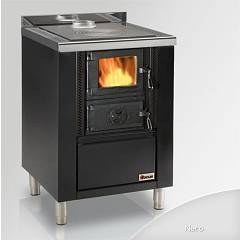 Focus Rio 60 Wooden cooking hot air natural convection 8 kw - black