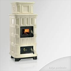 Focus Giada Hölzerkofen hot air natural convection 10 kw - beige majolika-beschichtung