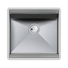 Foster 1013 850 Undermount sink - cm. 51 - brushed steel 1 bowl Milano