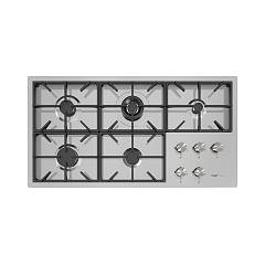 Foster 7638 000 Gas hob cm 106 - filotop - brushed steel Milano