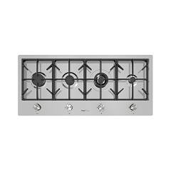 Foster 7640 000 Gas hob cm 108 - filotop - brushed steel Milano