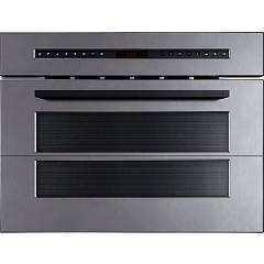 Foster 7104 020 60 cm built-in microwave oven - vintage stainless steel Fl Micro Vintage