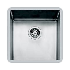 Foster 2156 850 Undermount sink - 44 cm - brushed steel 1 bowl Ke R15
