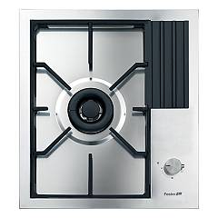 Foster 7278 032 Gas hob 45 cm - recessed q4 edge - brushed steel S4000 Domino