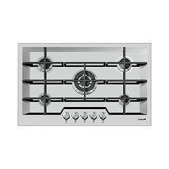 Foster 7600 032 Gas hob 80 cm - semifilo - brushed steel Ke