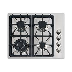 Foster 7243 062 Gas hob 60 cm - flush-mounted - brushed steel Professionale