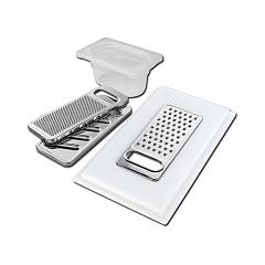 Foster 8159 101 Graters kit with ring-support tray and food collection tray Taglieri In Hdpe E Kit