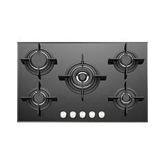 Foster 7039 632 Gas hob 77 cm - flush / semi-flush - black glass ceramic Ceramik