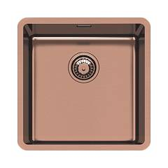Foster 2156888 Undermount sink 1 bowl 44 x 44 cm - vintage copper stainless steel Ke