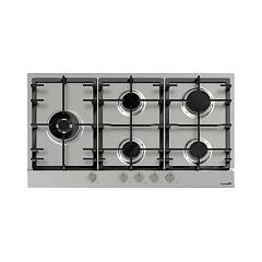 Foster 7016032 86 cm gas hob - brushed stainless steel Power