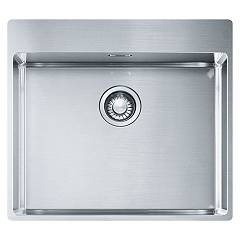 Franke Bxx 210-54 Tl Sink 1 semi-flush / filotop bowl 57 x 51 - stainless steel Box