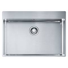 Franke Bxx 210-68 Tl Sink 1 semi-flush / filotop 72 x 51 - satin stainless steel Box