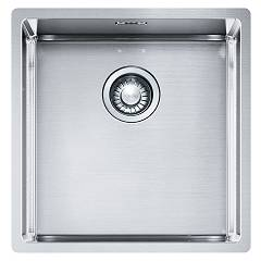 Franke Bxx 210/110-40 Sink 1 semi-flush / filotop / undermount 44 x 45 - satin stainless steel Box