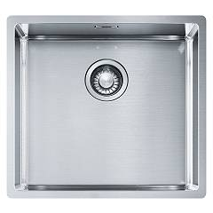 Franke Bxx 210/110-45 49 x 45 semi-flush / filotop / undertop sink 1 bowl - satin stainless steel Box