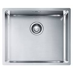 Franke Bxx 210/110-50 Sink 1 semi-flush / flush-mount / under-top 54 x 45 - stainless steel Box