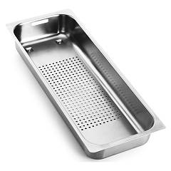 Franke Vf R25 Perforated stainless steel tray 17.2 x 41.2 (0398530) Mythos